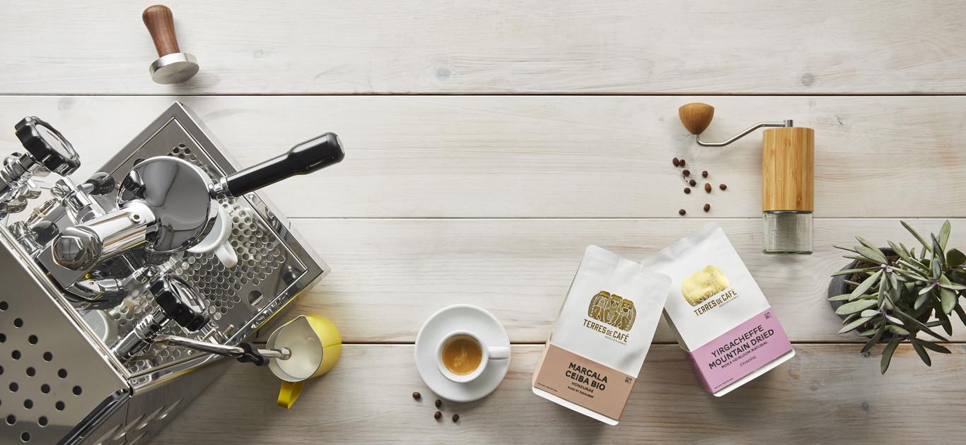 Nos gammes de cafés